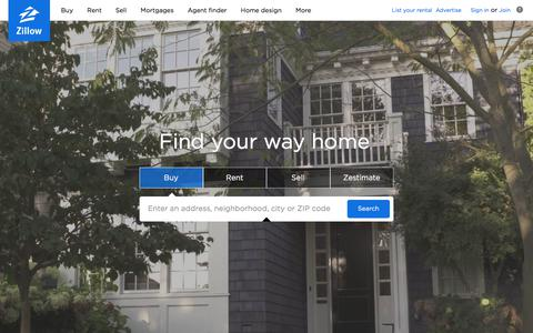 Zillow: Real Estate, Apartments, Mortgages & Home Values