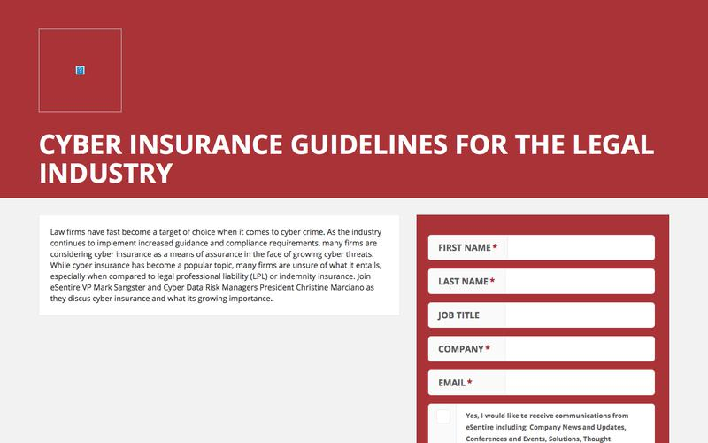 Cyber Insurance Guidelines for the Legal Industry
