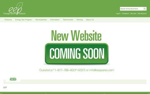 Screenshot of Home Page eepsales.com - Home page - captured Jan. 29, 2016