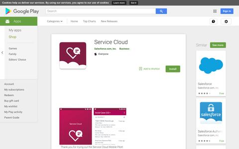 Service Cloud - Apps on Google Play