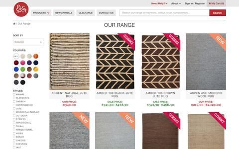 Screenshot of Products Page rugspot.com.au - Products Rugs - RugSpot - captured June 17, 2017