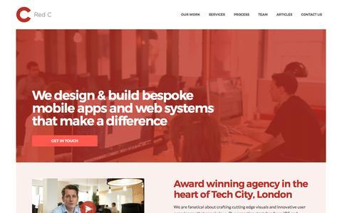 Red C Mobile App Development & Design Company London, UK
