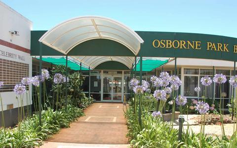 Screenshot of Menu Page osborneparkbc.com.au - Entry to Osborne Park - captured March 25, 2017