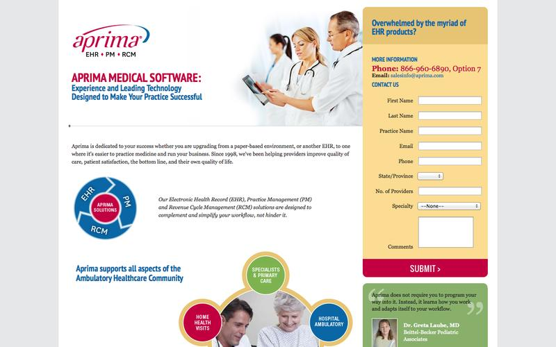 Aprima | Experience and Leading Technology Designed to Make Your Practice Successful