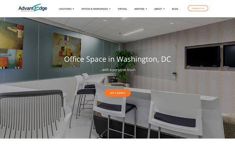 DC Office Space ‐ Coworking Space | AdvantEdge