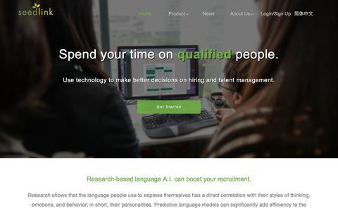 Seedlink:Leading AI Technology for HR