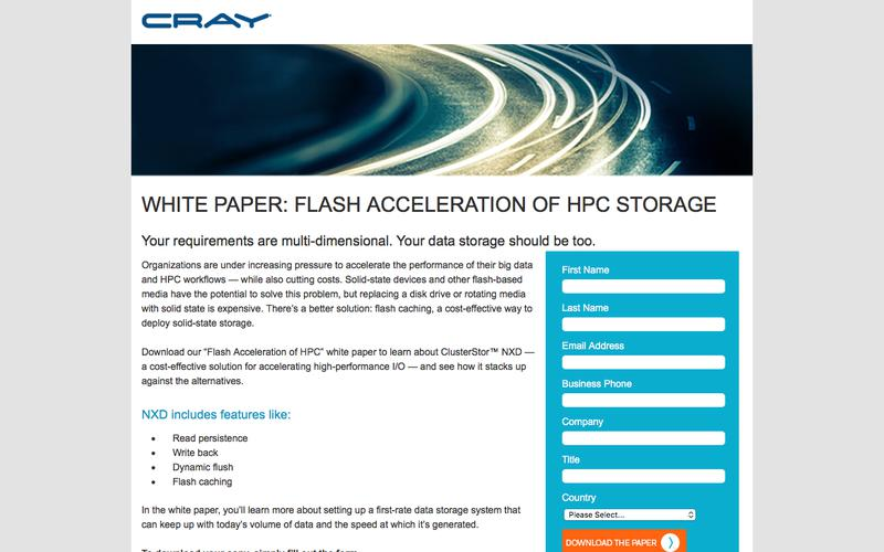 White Paper: Flash Acceleration of HPC Storage (Nytro)