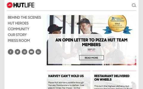Hut Life – Official Pizza Hut Blog