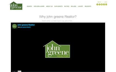 Screenshot of Jobs Page johngreenerealtor.com - john greene Careers - captured June 19, 2018