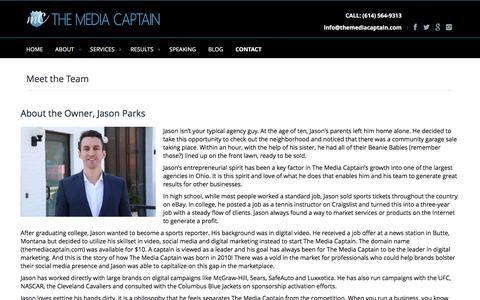 Meet the Team | The Media Captain