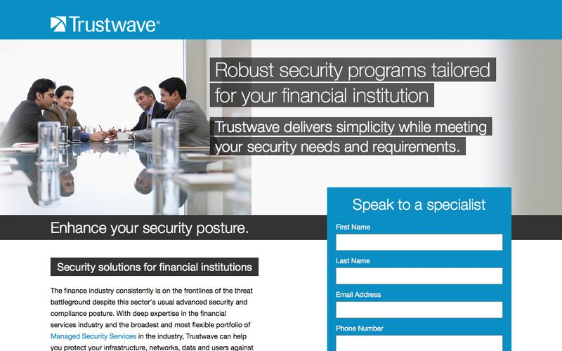 Managed Security Services for Financial Services