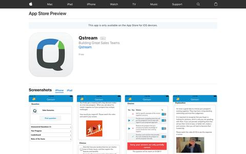 Qstream on the App Store