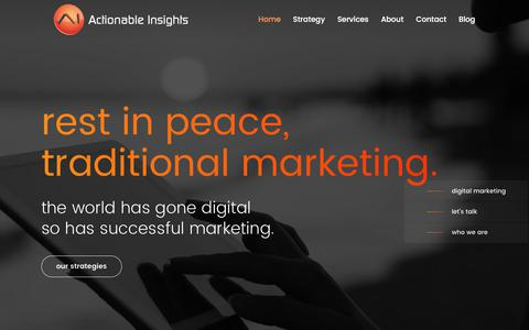 Digital Marketing | Actionable Insights | Youngstown, Ohio