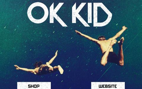Screenshot of Home Page okkidmusik.com - OK KID | Offizielle Homepage - captured Sept. 22, 2015
