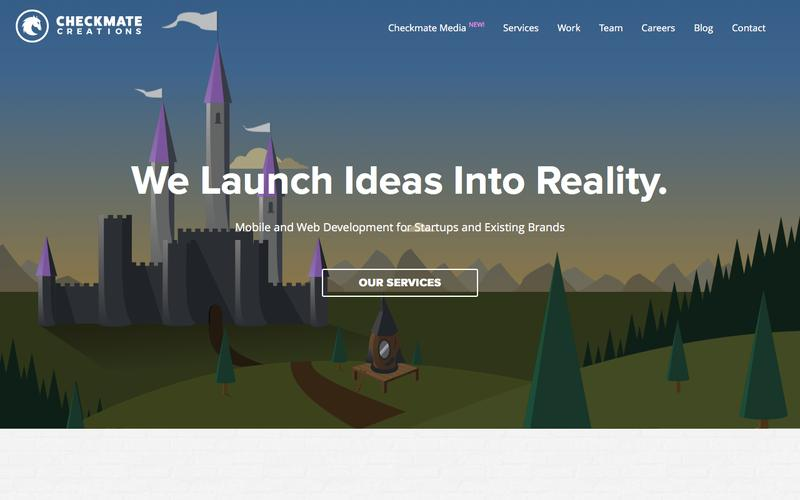 Screenshot Checkmate Creations | We Launch Ideas into Reality.