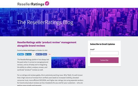 ResellerRatings | Blog