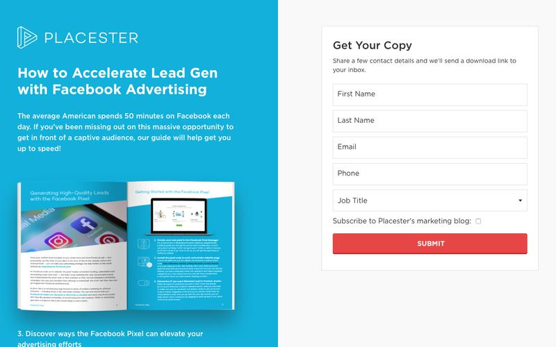 How to Accelerate Your Lead Gen with Facebook Advertising | Placester