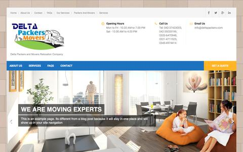 Delta Packers and Movers Relocation Company