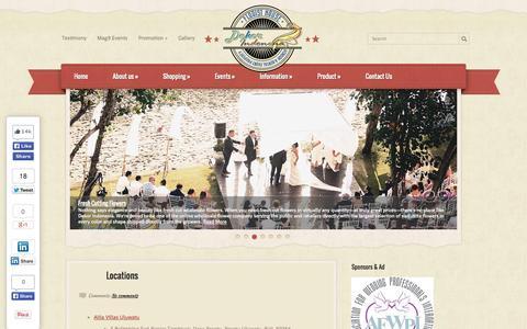 Screenshot of Locations Page dekorindonesia.com - Locations | Dekor Indonesia - captured Sept. 30, 2014