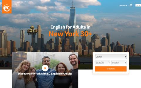Adult English Courses in New York – NY English School - EC New York