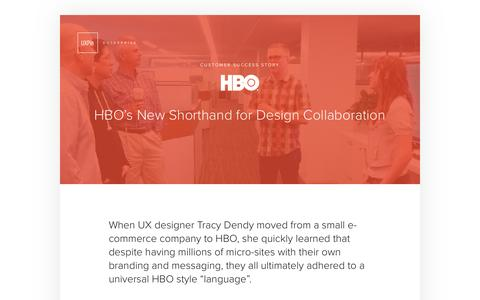 UXPin | Customer Success HBO