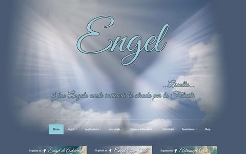 Screenshot of Home Page astriengel.com - Astriengel - Astriengel - captured Aug. 31, 2015