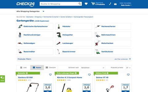 Gartengeräte Produkte im Preisvergleich auf CHECK24