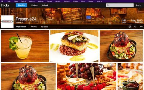 Screenshot of Flickr Page flickr.com - Flickr: Preserve 24's Photostream - captured Oct. 27, 2014