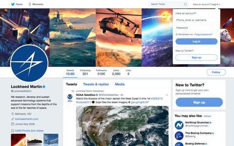 Lockheed Martin (@LockheedMartin)   Twitter