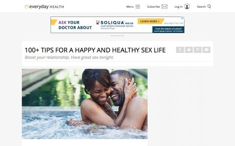 100+ Tips for a Happy and Healthy Sex Life | Sexual Health | Everyday Health