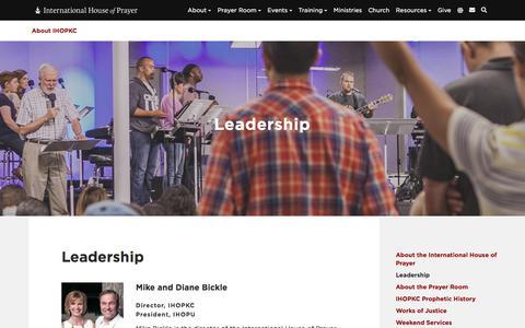 Screenshot of Team Page ihopkc.org - Leadership - About IHOPKC - captured Sept. 24, 2018