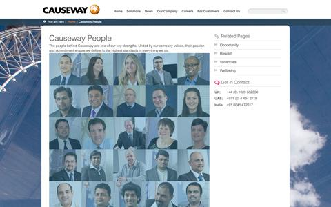 Screenshot of Team Page causeway.com - Causeway People | Causeway - captured Jan. 15, 2016