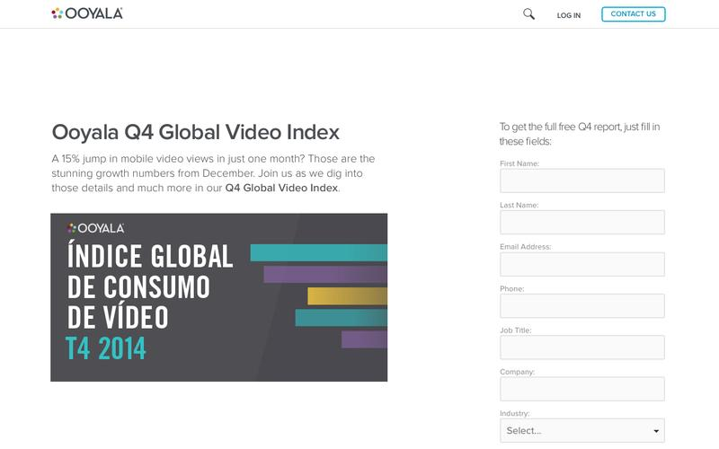 Ooyala Global Video Index Q4 2014