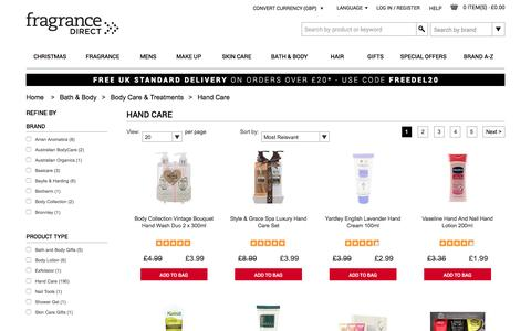Hand Care | Fragrance Direct