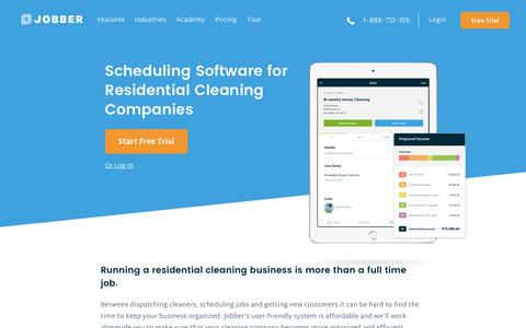 Residential Cleaning Scheduling Software | Jobber