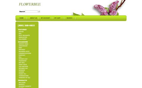 Screenshot of Privacy Page Terms Page myflowerbee.net - FLOWERBEE - Florist In TUCSON, AZ 85718 - captured Oct. 25, 2014