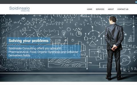 Screenshot of Home Page soidinsalo.com captured Oct. 6, 2014