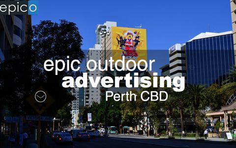 Screenshot of Home Page epico.com.au - epico outdoor advertising and billboards Perth - captured Jan. 30, 2016