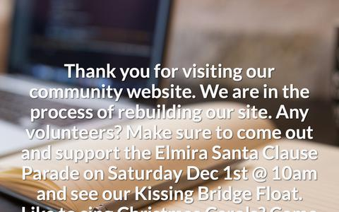 Screenshot of Home Page bridgekeepers.ca - West Montrose Residents' Association - captured Nov. 28, 2018
