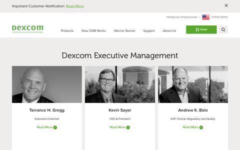 Dexcom Executive Leadership | Dexcom