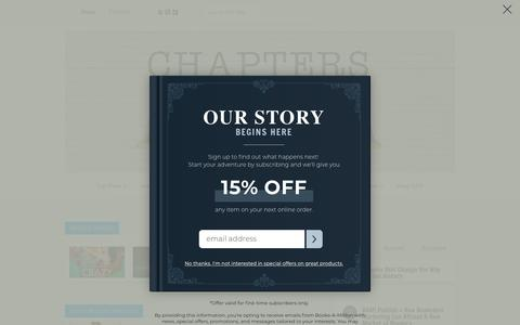 Screenshot of Blog booksamillion.com - Books-A-Million Chapters Blog   - captured Oct. 26, 2018