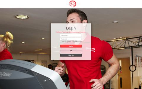 Screenshot of Login Page discovery.uk.com - Discovery Learning | Login - captured July 7, 2018