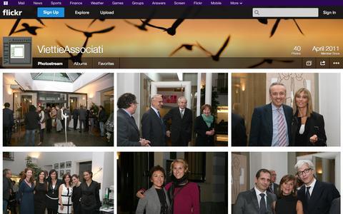 Screenshot of Flickr Page flickr.com - Flickr: ViettieAssociati's Photostream - captured Oct. 26, 2014