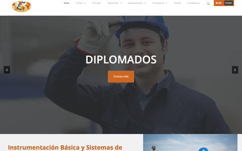 Screenshot of Home Page hidrocarburos.com.co - Home - Elite Training - captured Jan. 27, 2016