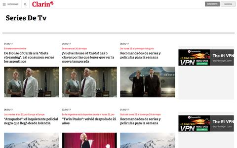 Series De Tv: noticias – clarin.com