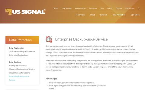 Enterprise Backup-as-a-Service | US Signal