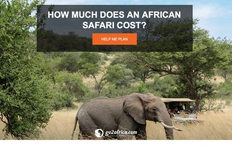 Screenshot of Landing Page go2africa.com - Safari Pricing Guide | Go2Africa.com - captured April 23, 2017