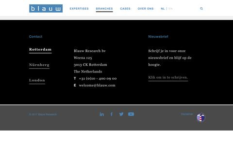 Blauw Research | Blauw Research