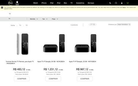 Apple TV com pagamento em até 12X - iPlace