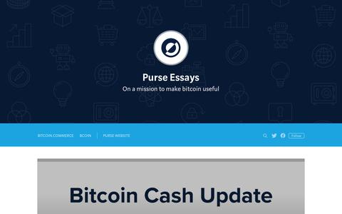 Screenshot of Blog purse.io - Purse Essays - captured Oct. 10, 2017